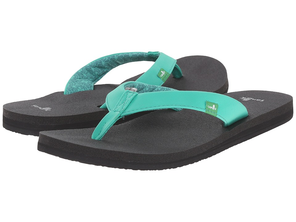 Sanuk - Yoga Zen (Hot Turquoise) Women's Sandals