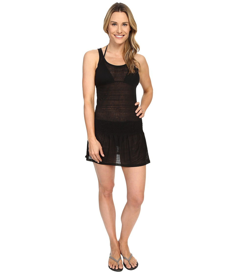 Prana - Zadie Dress (Black) Women's Swimwear