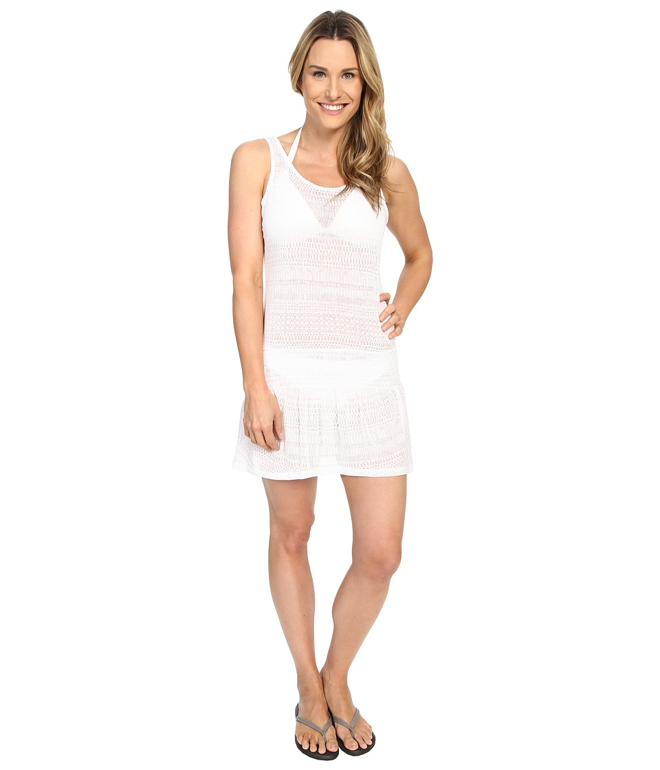 Prana - Zadie Dress (White) Women's Swimwear