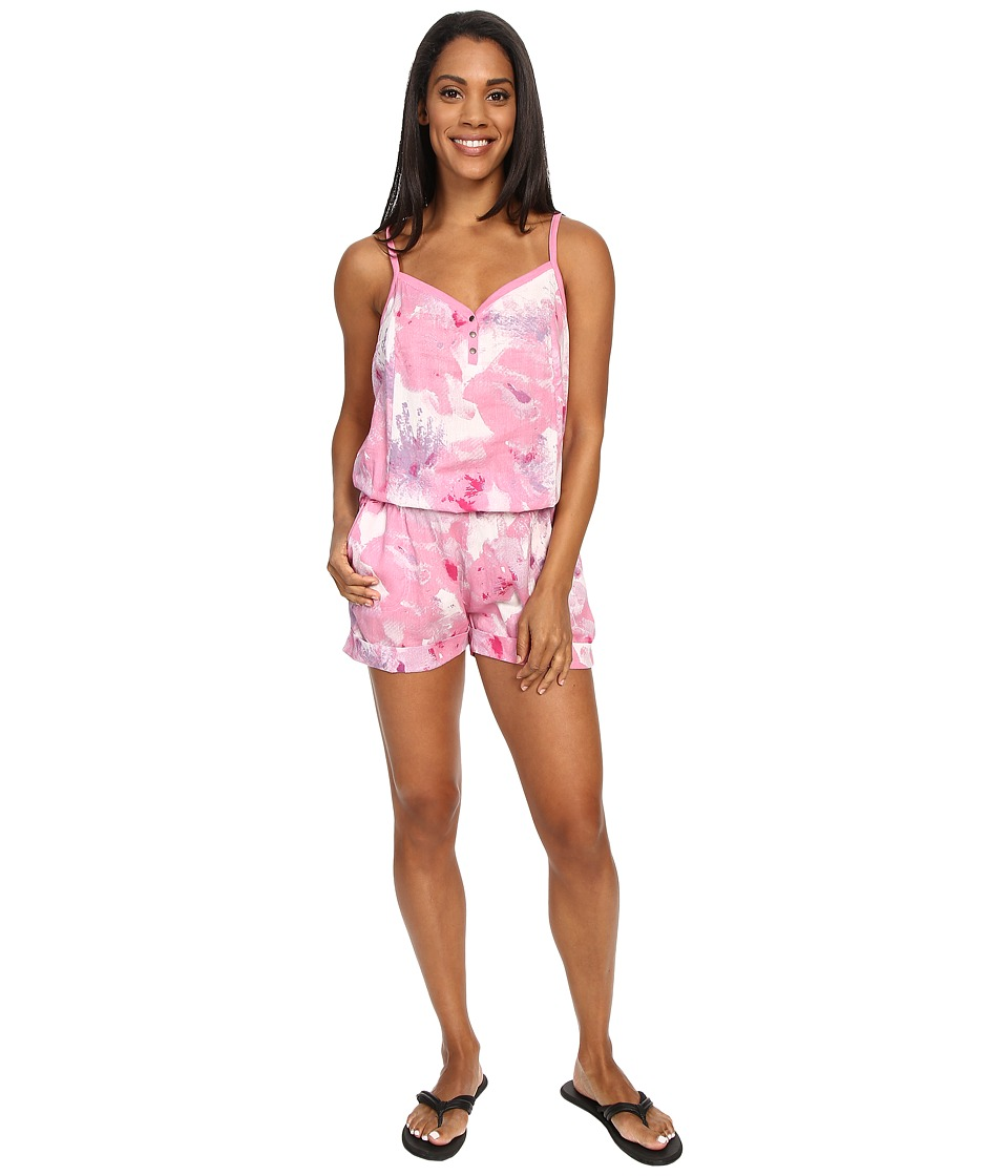 Prana - Sylvia Romper (Dahlia) Women's Jumpsuit & Rompers One Piece
