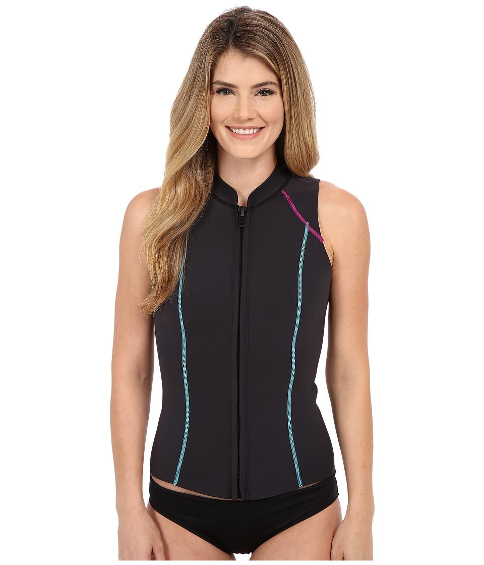 Prana - Kelis Vest (Black) Women's Vest