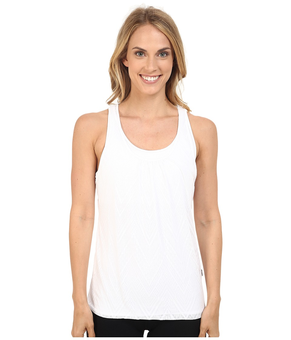 Prana - Mika Top (White) Women's Sleeveless