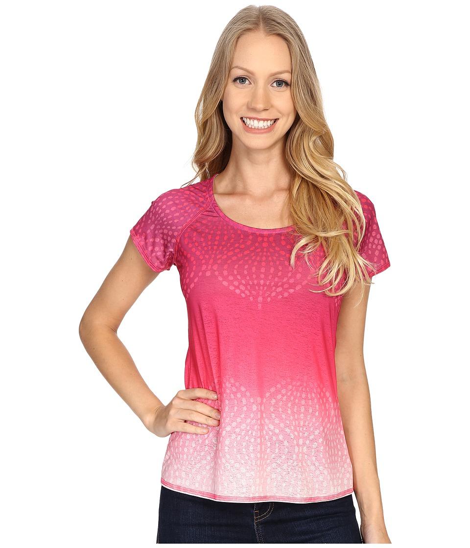 Prana Luca Tee (Azalea) Women's Short Sleeve Pullover