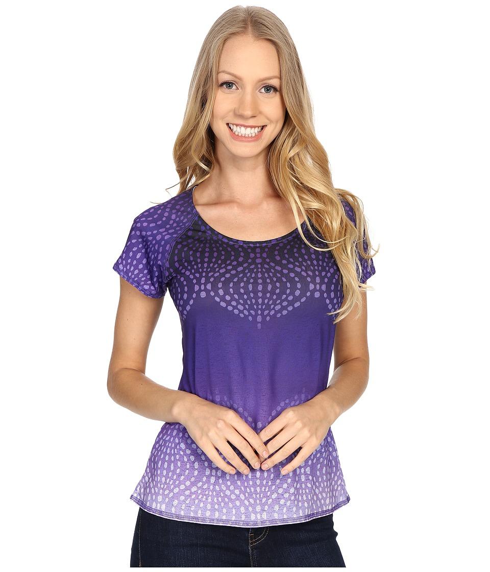 Prana - Luca Tee (Ultra Violet) Women's Short Sleeve Pullover