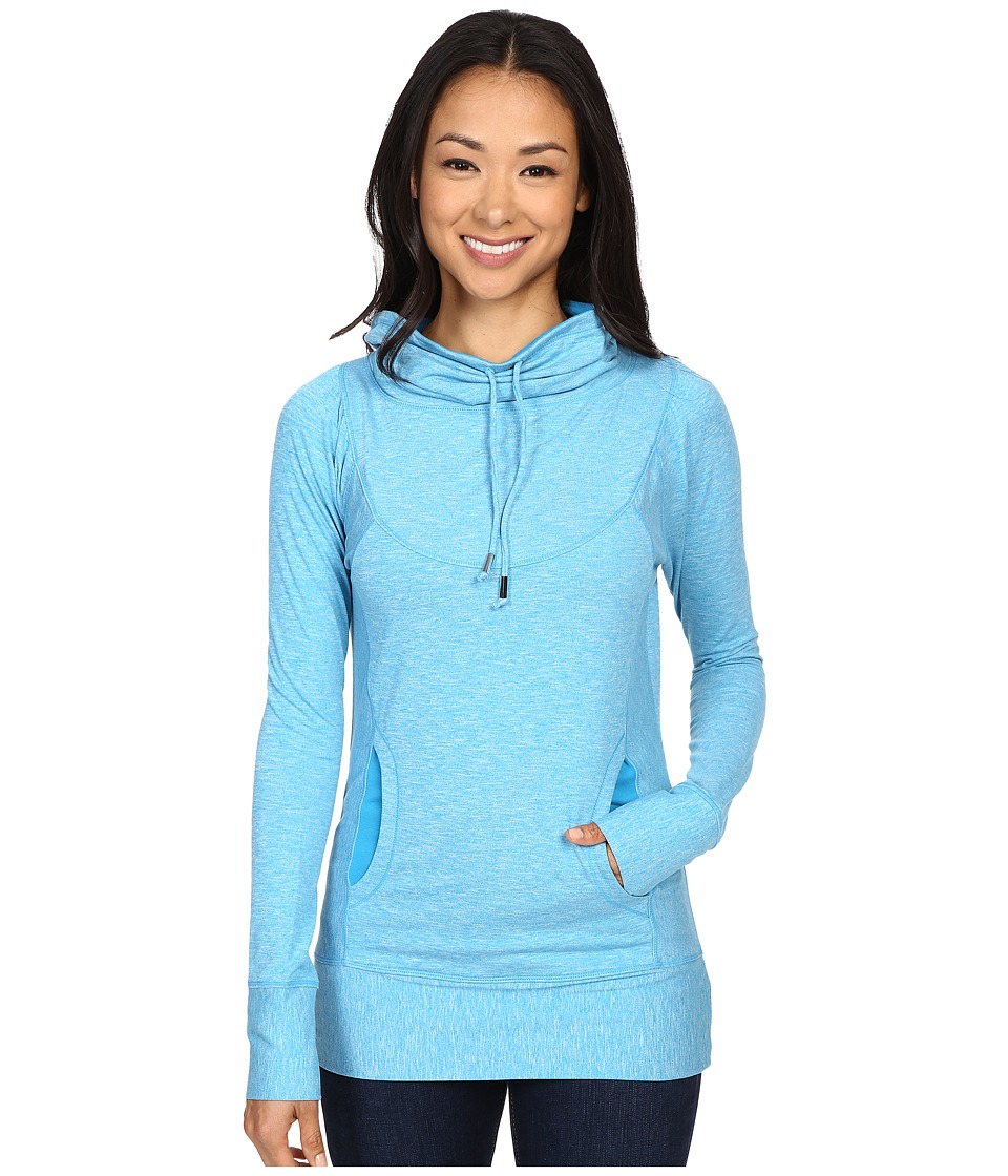 Prana - Ember Top (Electro Blue) Women's Sweatshirt
