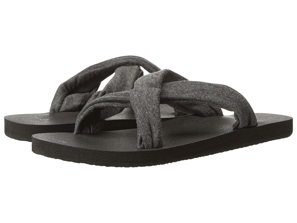 Sanuk - Yoga X-Hale (Charcoal) Women's Sandals