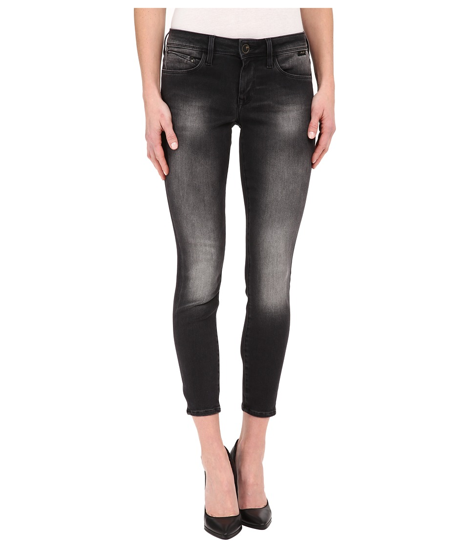 Mavi Jeans - Alexa Ankle in Black Used Gold Sporty (Black Used Gold Sporty) Women's Jeans