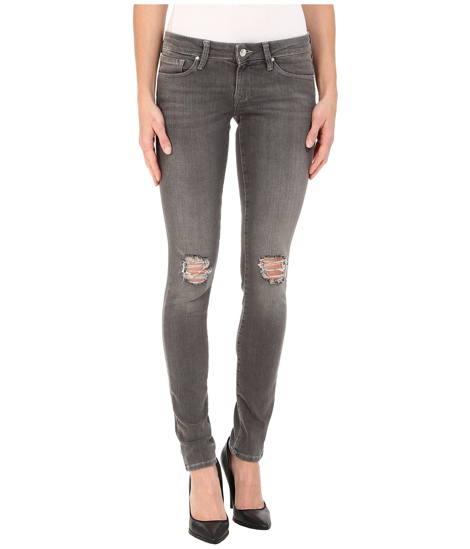Mavi Jeans - Serena in Grey Ripped Stripe (Grey Ripped Stripe) Women's Jeans