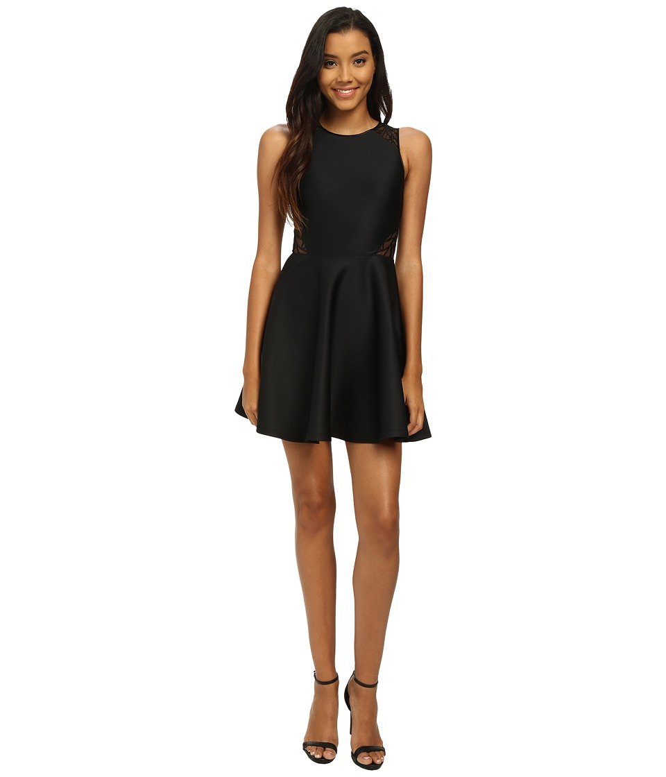 Ted Baker - Embellished Organza Dress (Black 1) Women's Dress