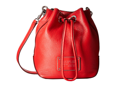 Marc by Marc Jacobs - Too Hot To Handle Drawstring (Cambridge Red) Drawstring Handbags