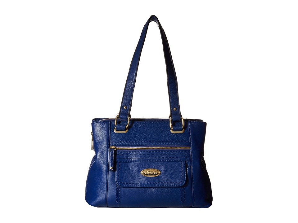 Born - Lyden Z/A Multi Compartment Tote (Blue) Tote Handbags