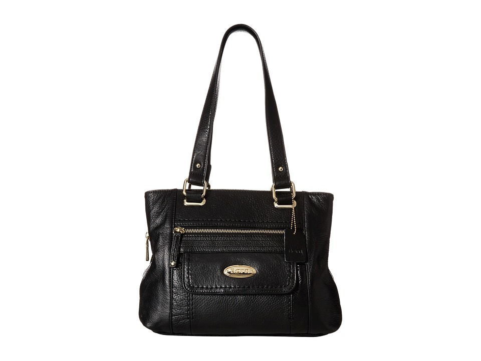 Born - Lyden Z/A Multi Compartment Tote (Black) Tote Handbags