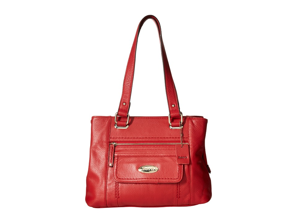 Born - Lyden Z/A Multi Compartment Tote (Red) Tote Handbags