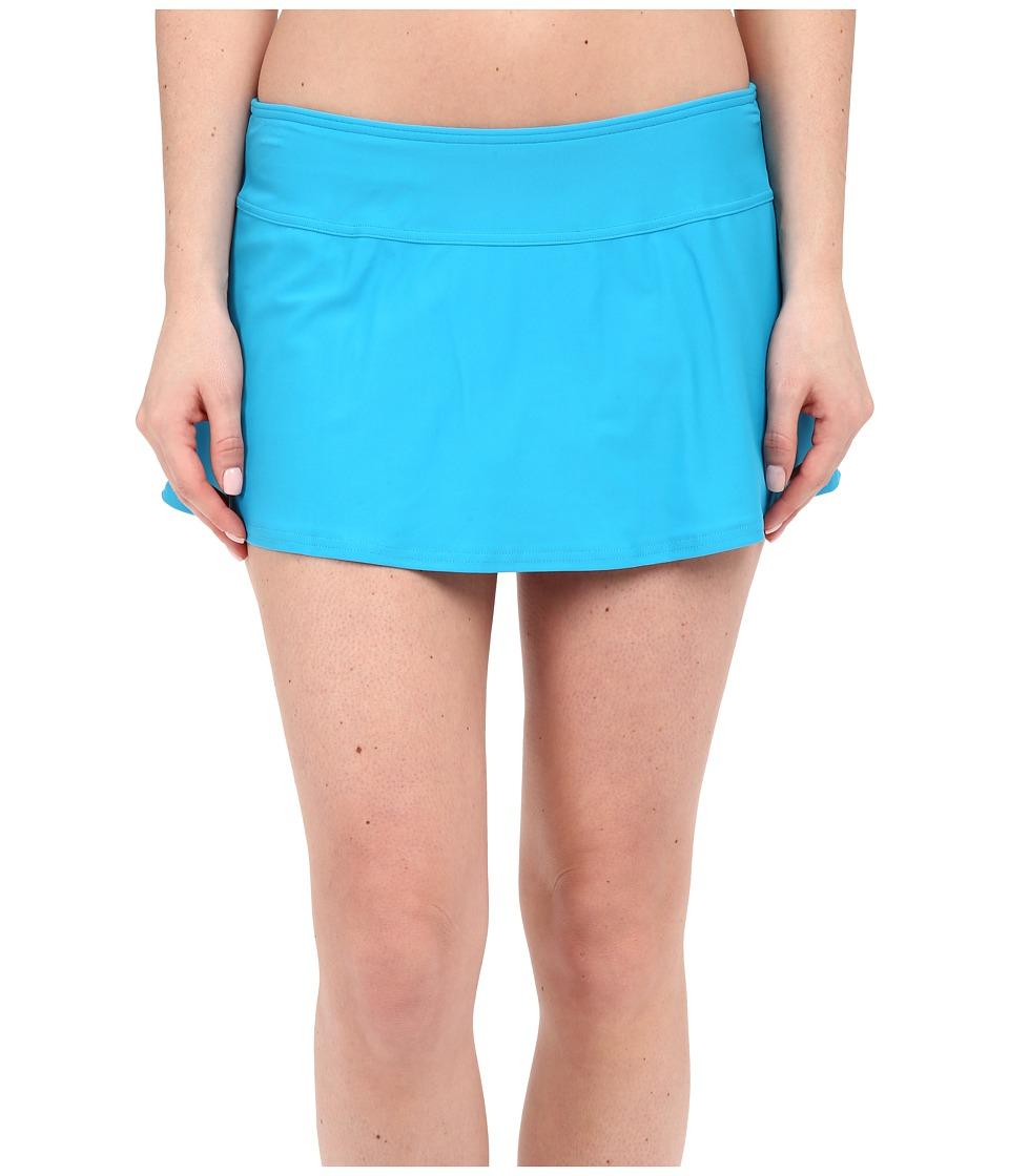 Prana Sakti Swim Skirt (Vivid Blue) Women