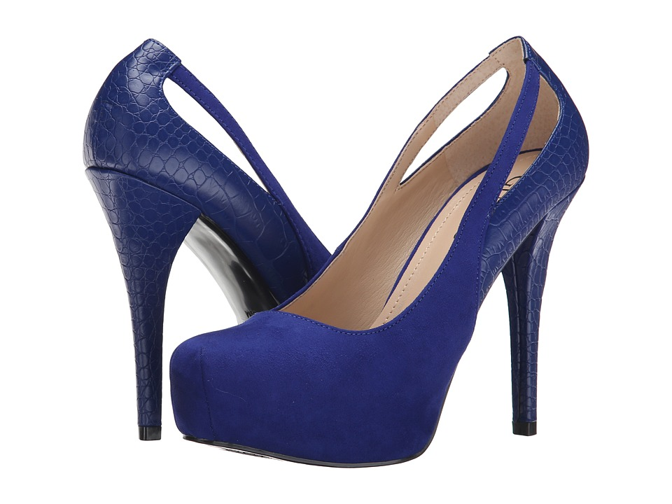 GUESS - Cherie (Electric Blue Suede) Women's Shoes