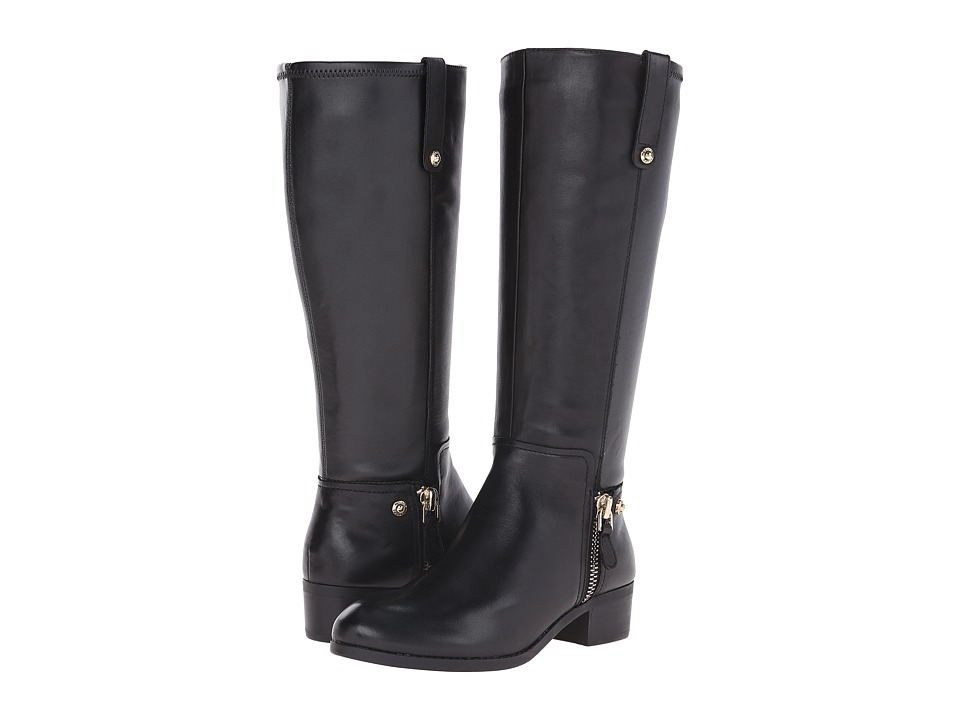 GUESS - Tafn Wide Calf (Black Nappa PU) Women's Boots