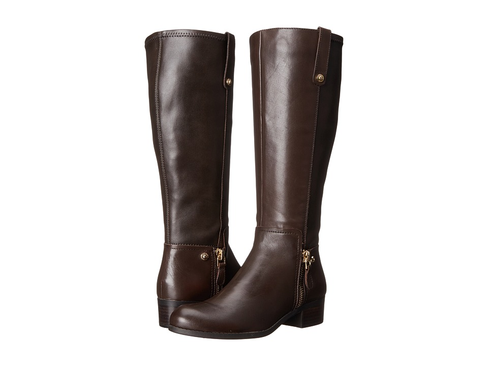 GUESS - Tafn Wide Calf (Brown Nappa PU) Women's Boots