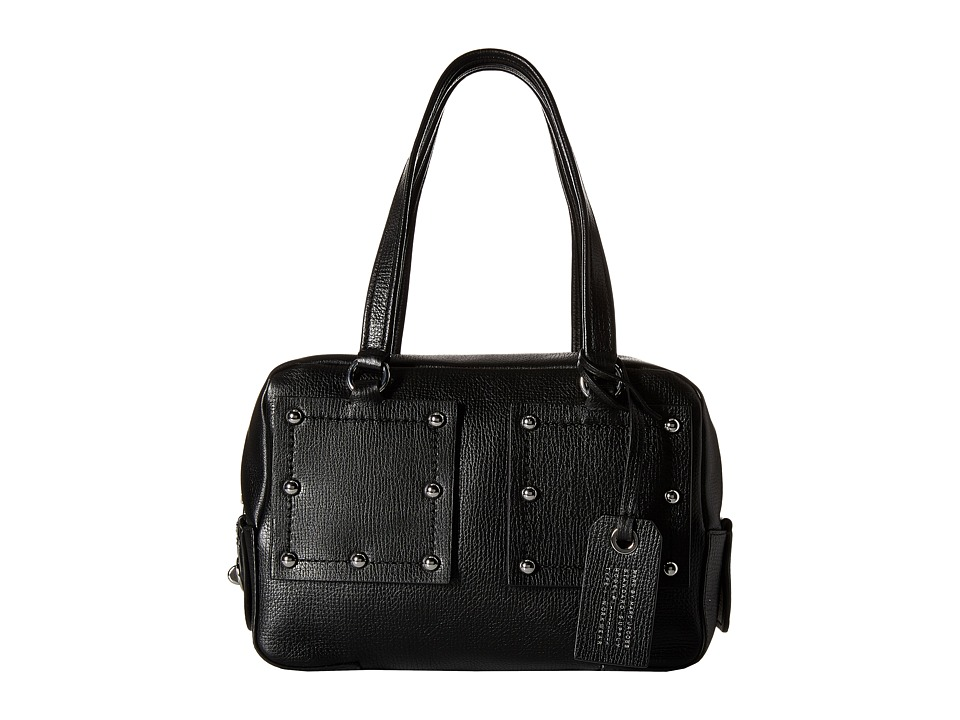 Marc by Marc Jacobs - C Lock Satchel (Black) Satchel Handbags