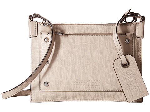 Marc by Marc Jacobs - C Lock Crossbody (Papyrus) Cross Body Handbags