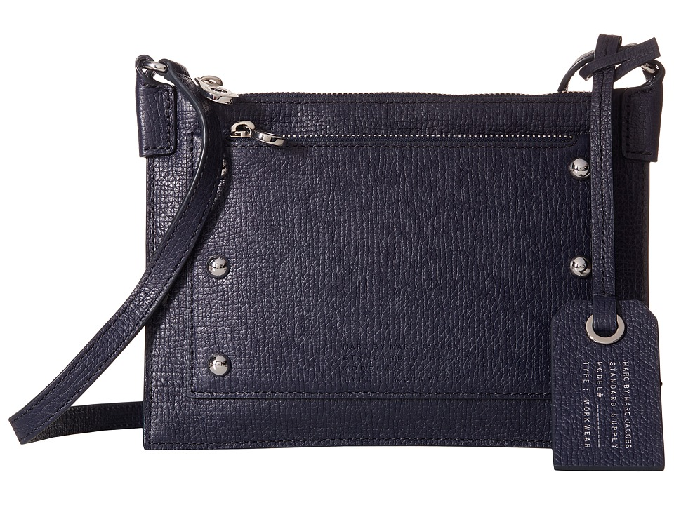 Marc by Marc Jacobs - C Lock Crossbody (India Ink) Cross Body Handbags