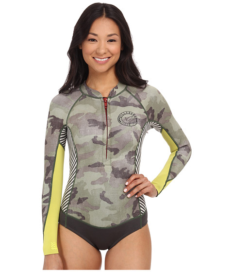 Billabong - Salty Daze Spring Long Sleeve Wetsuit (Camo) Women