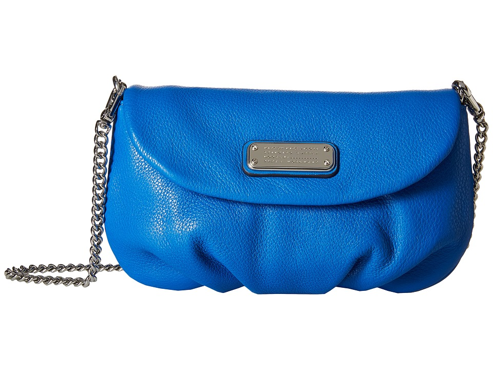 Marc by Marc Jacobs - New Q Karlie (Neptune Blue) Cross Body Handbags