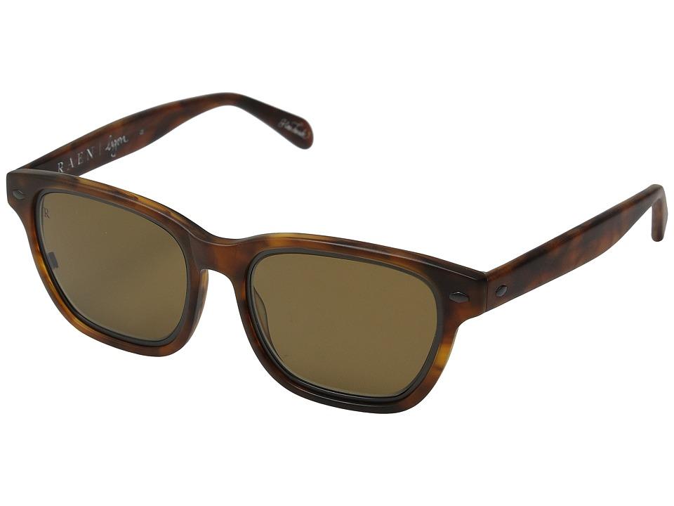 RAEN Optics - Lyon (Matte Rootbeer) Fashion Sunglasses