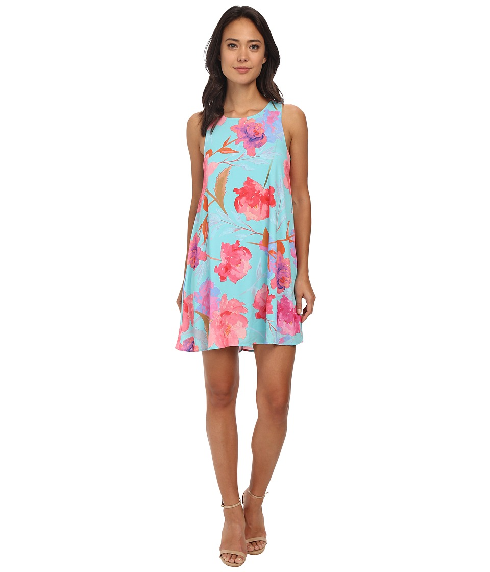 Gabriella Rocha - Joanna Rose Print Dress (Mint) Women