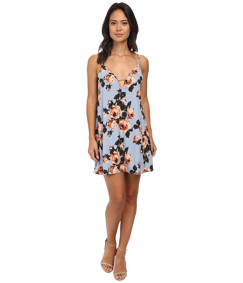 Gabriella Rocha - Addison Spaghetti Strap Dress (Blue) Women's Dress