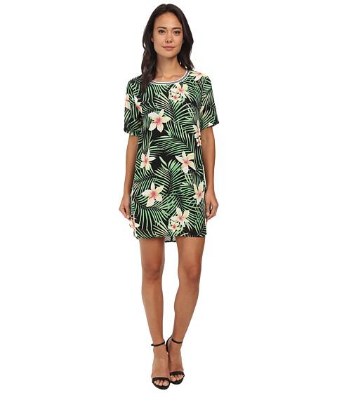 Gabriella Rocha - Jana Hawaiian Print Tee (Green) Women's T Shirt