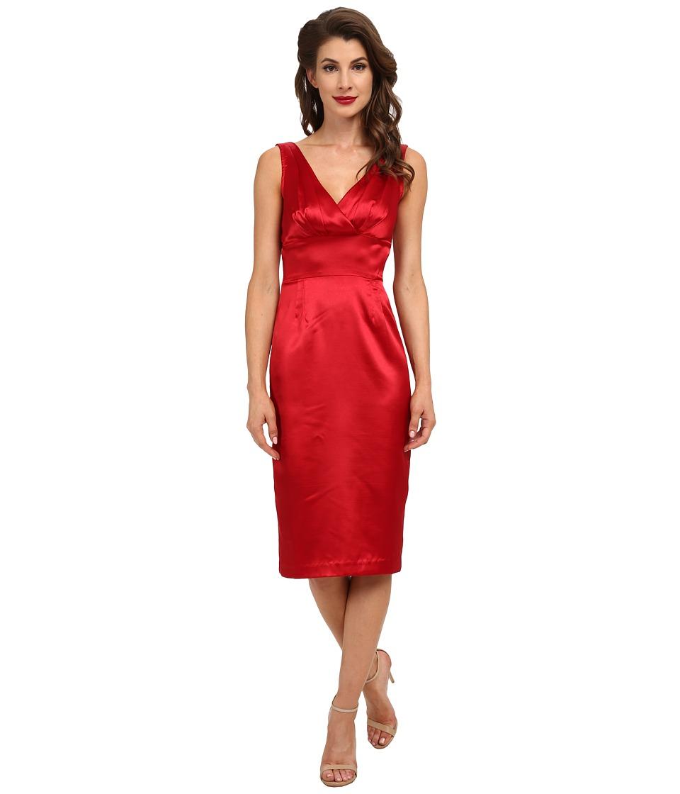 Stop Staring! Sapra Dress (Red Satin) Women