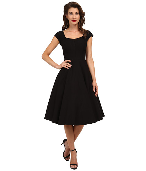 Stop Staring! - Nightlife Swing Dress (Black) Women's Dress