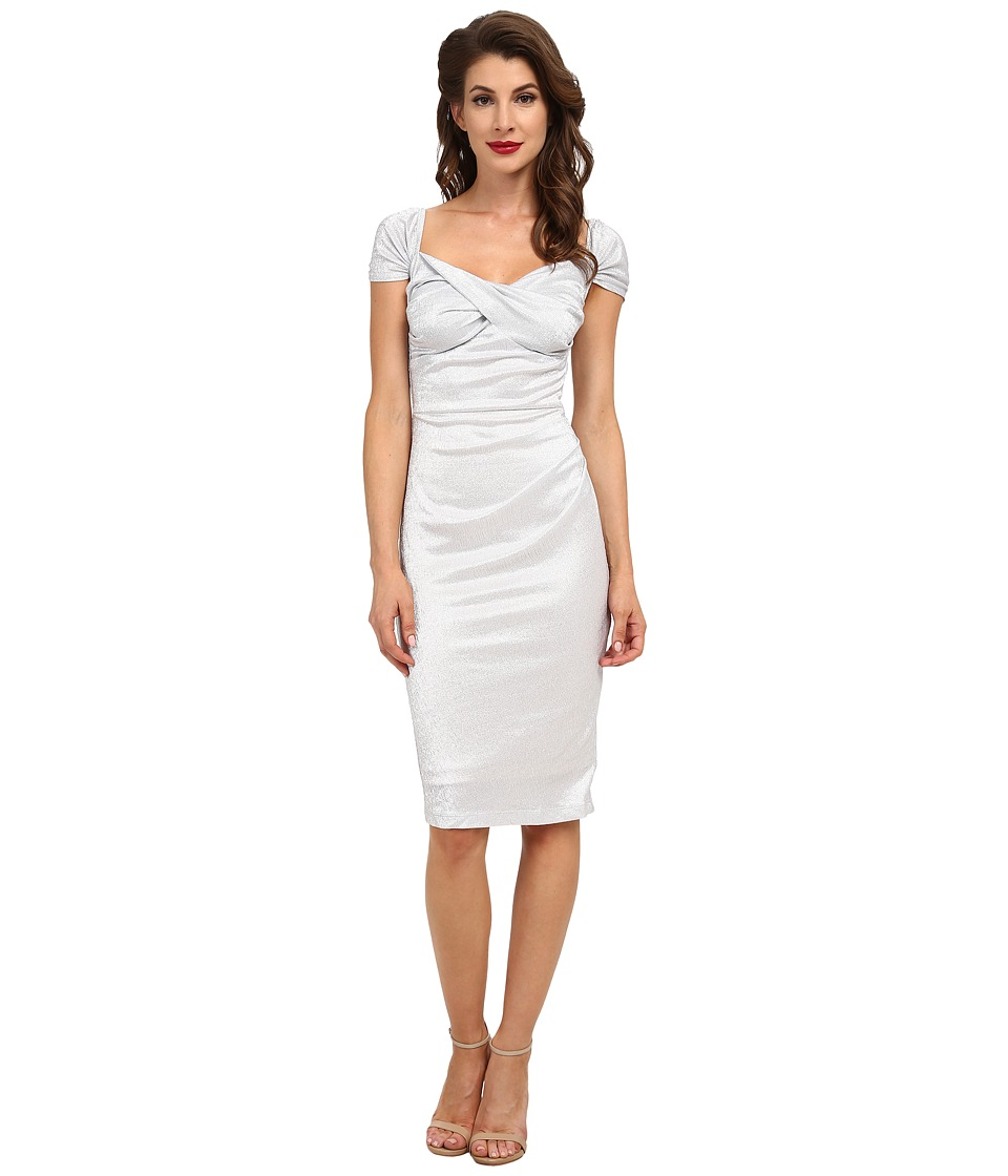Stop Staring! - Fortune Dress (Silver) Women's Dress