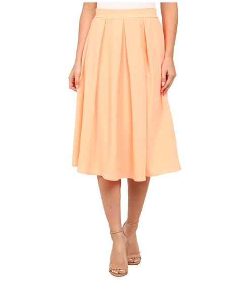 Gabriella Rocha - Reece Pleated Skirt (Neon Orange) Women