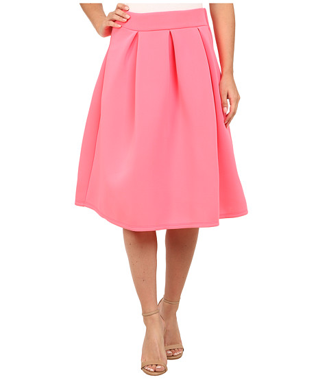 Gabriella Rocha - Jean Scuba Skirt (Neon Pink) Women