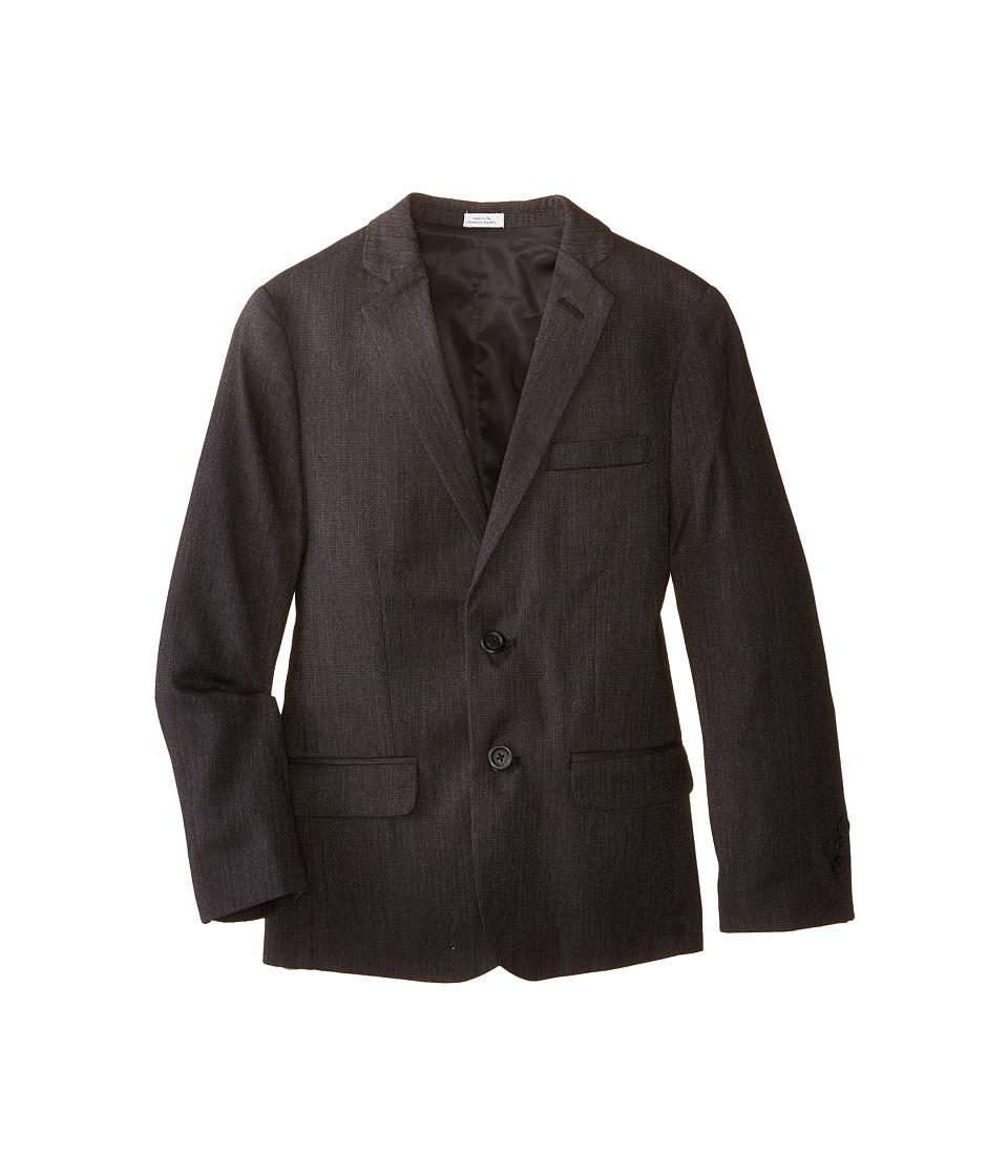 Calvin Klein Kids - Chevron Jacket (Big Kids) (Charcoal) Boy's Coat