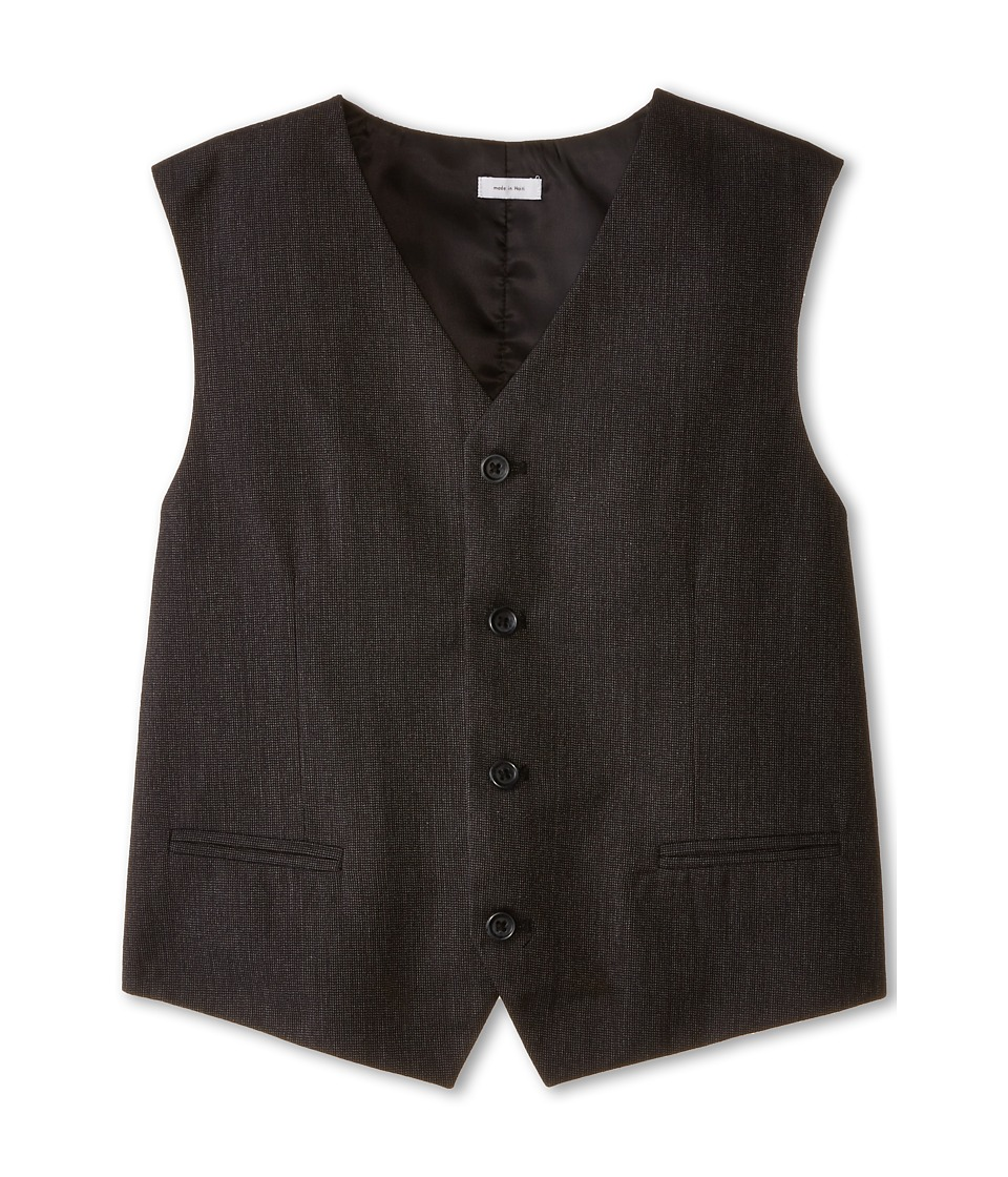 Calvin Klein Kids - Chevron Vest (Big Kids) (Charcoal) Boy's Vest