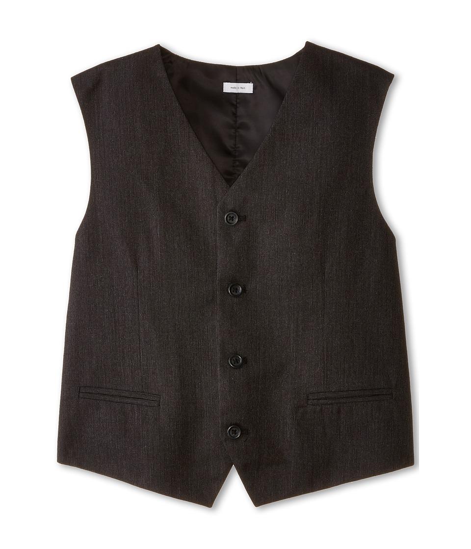 Calvin Klein Kids - Chevron Vest (Big Kids) (Charcoal) Boy's Vest