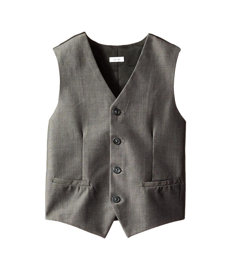 Calvin Klein Kids - Birdseye Vest (Big Kids) (Black) Boy's Vest
