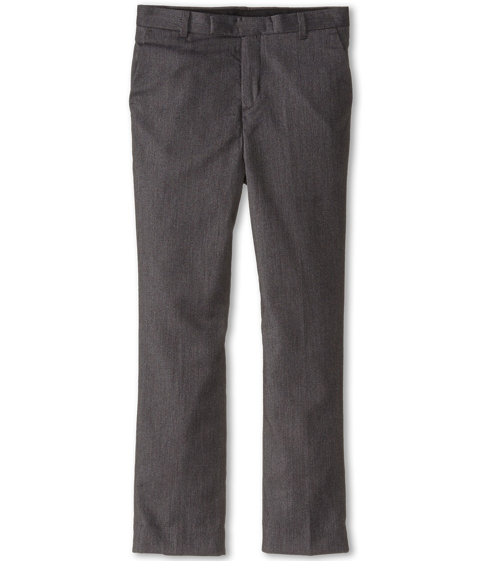 Calvin Klein Kids - Luster Cord Pants (Big Kids) (Dark Grey) Boy's Casual Pants