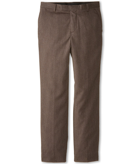 Calvin Klein Kids - Luster Cord Pants (Big Kids) (Brown) Boy's Casual Pants