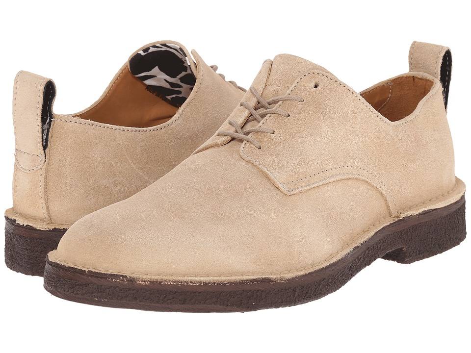 Paul Smith - PS Kinney Oxford (Sand Suede) Men's Lace up casual Shoes