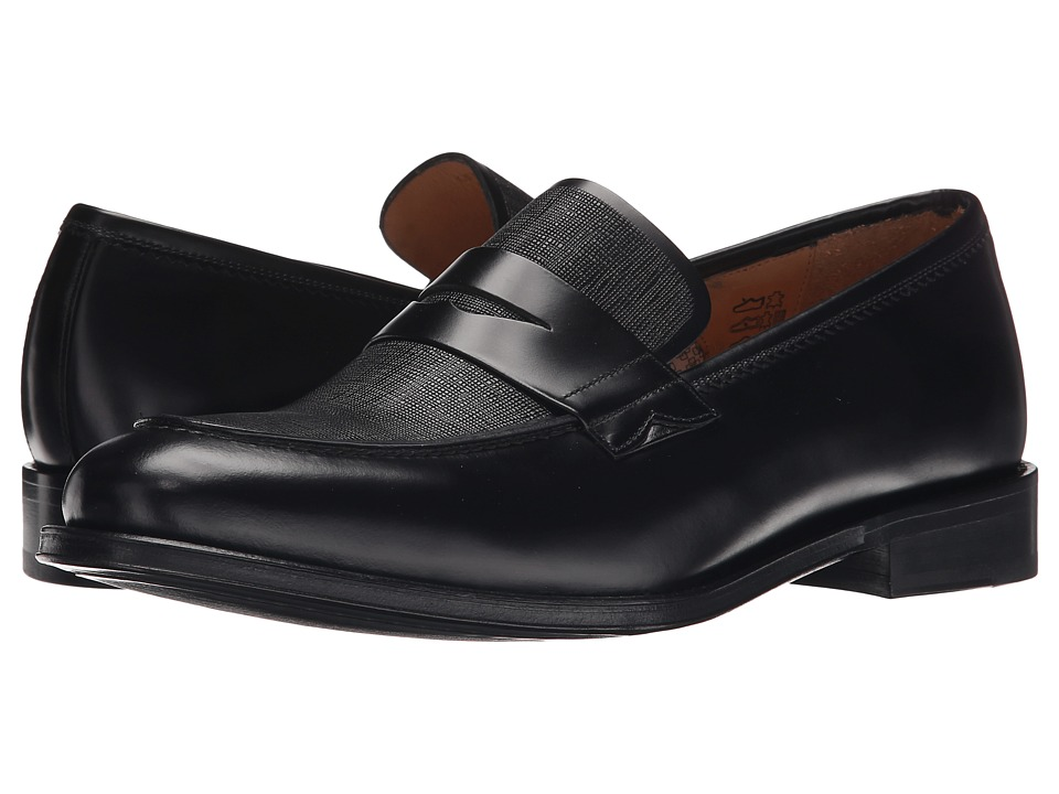 Paul Smith - PS Gifford Loafer (Black) Men's Slip-on Dress Shoes
