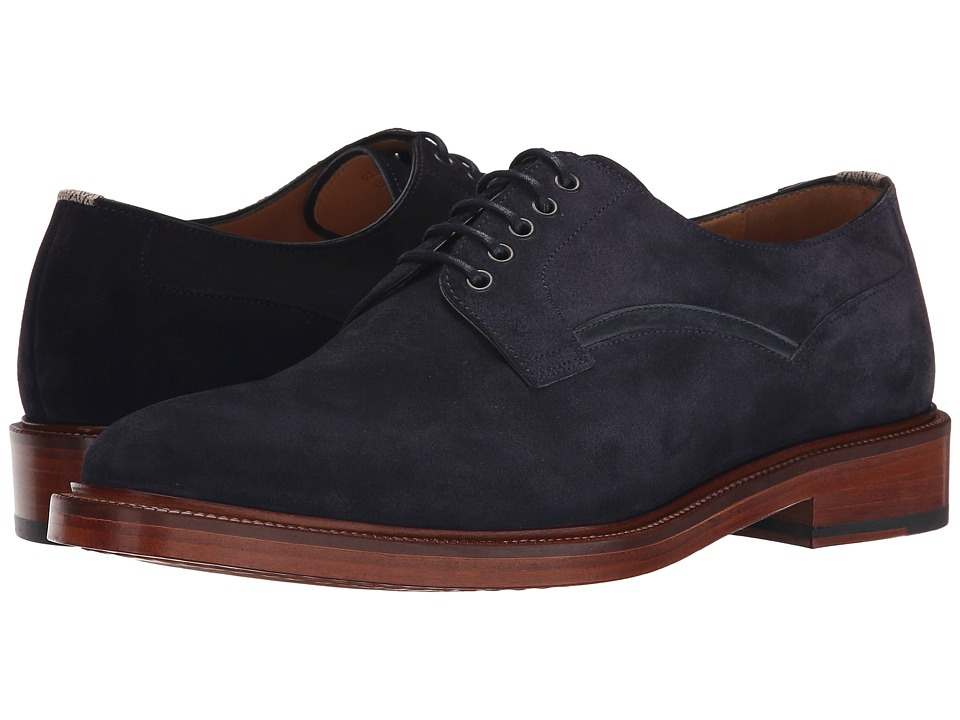 Paul Smith - PS Reid Oxford (Navy Suede) Men's Lace up casual Shoes