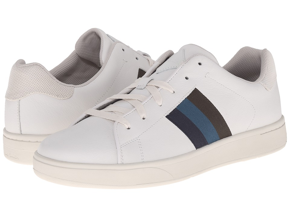 Paul Smith - Jeans Lawn Sneaker (White) Men's Lace up casual Shoes