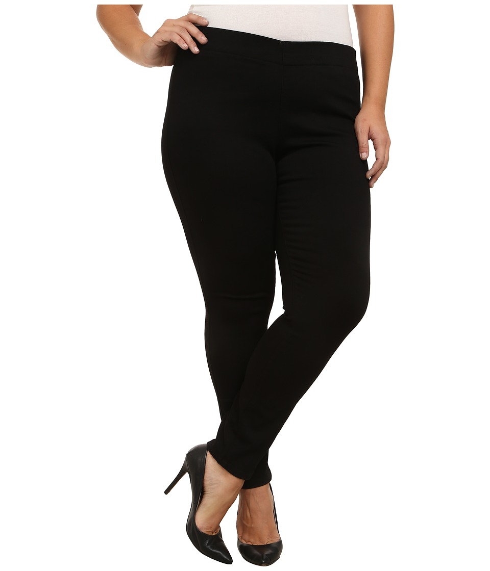 NYDJ Plus Size - Plus Size Poppy Pull On in Black Gram (Black Gram) Women's Jeans