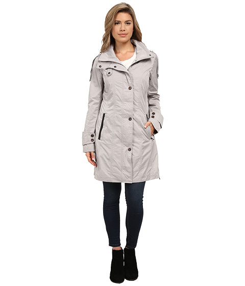 Rainforest - Packable Modern Trench (Champagne) Women's Coat