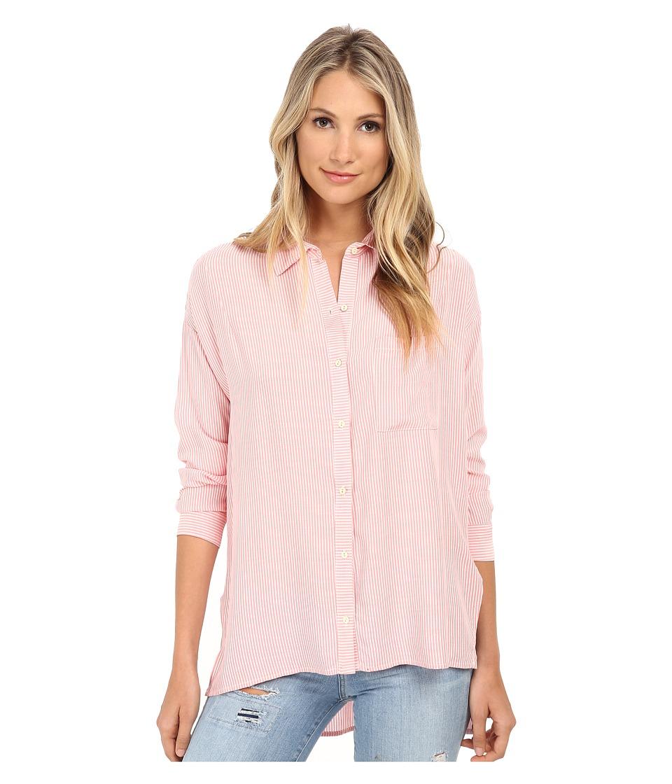 Brigitte Bailey - Abigail Button Up Top (Pink) Women