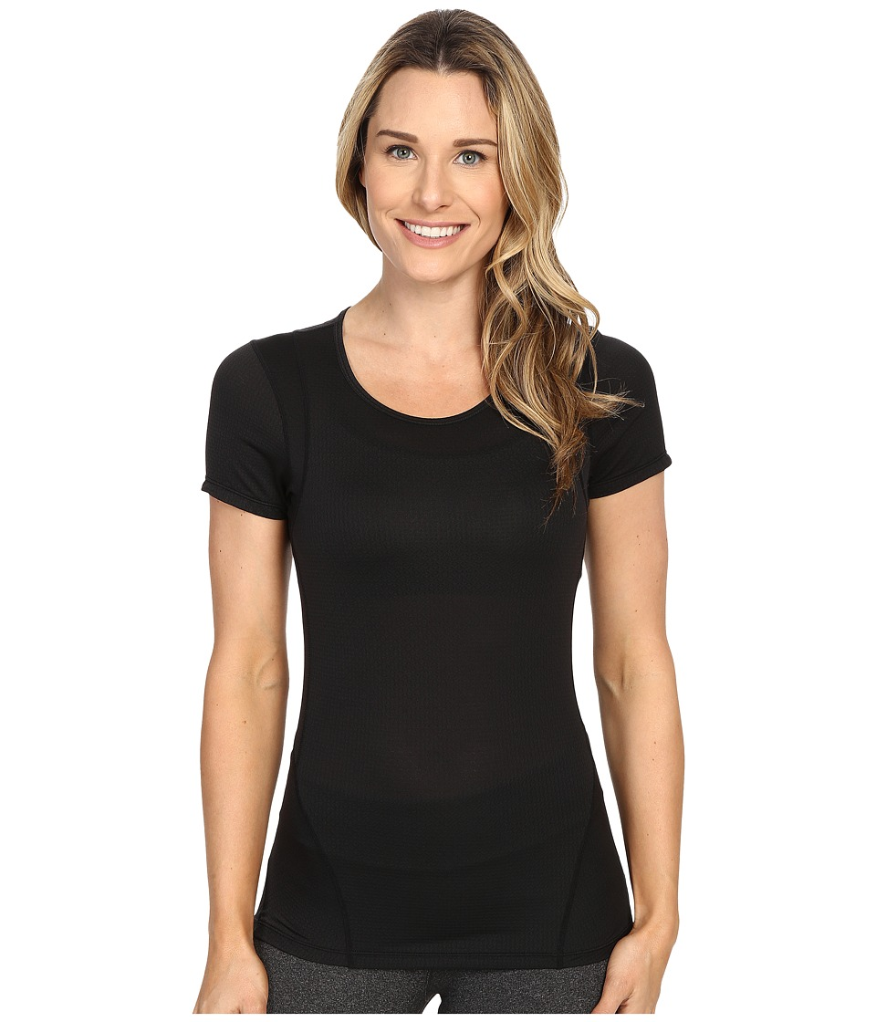 Skirt Sports - Circuit Tee (Black) Women's T Shirt