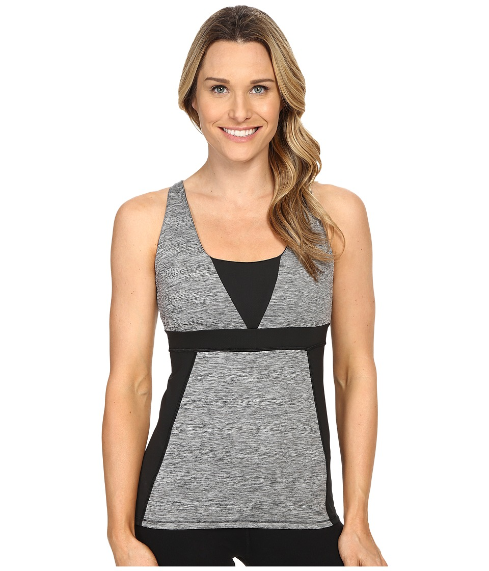 Skirt Sports - Electric Tank (Grey Stardust/Black) Women's Sleeveless